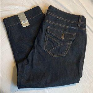 Bandolinoblu Boheme Cropped Jeans NWT size 12